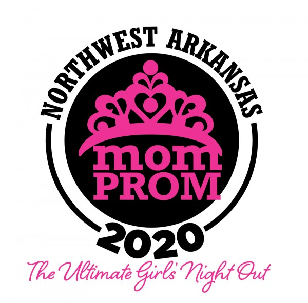 Mom Prom logo round with tagline